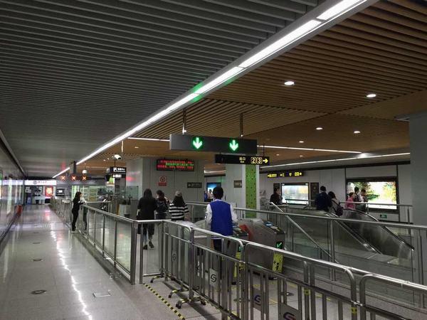 苏州地铁一号线室内照明改造项目
